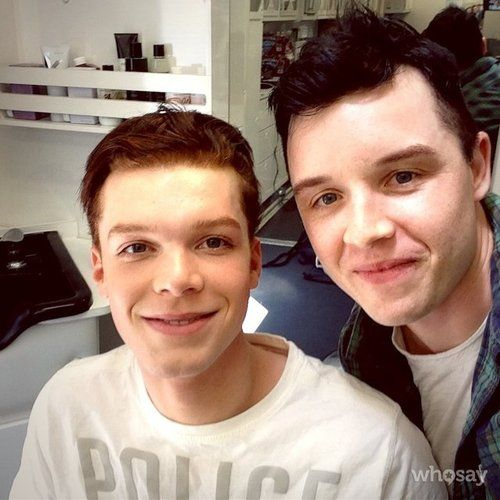 Cameron Monaghan & Noel Fisher. I don't love them together bc they're gay, I love how both of their characters on Shameless are able to accent each other so well, and I love how both actors are able to portray such an amazing storyline