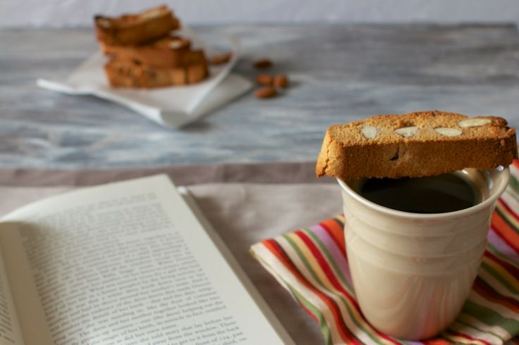 Honey Almond biscotti #glutenfree | Bees & Honey | Pinterest