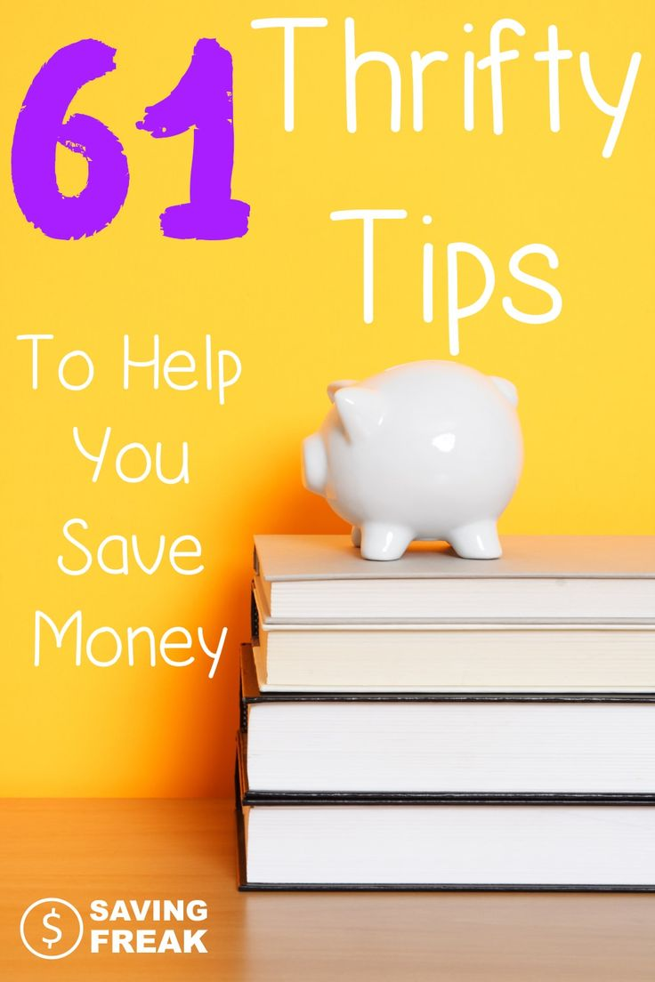 Being frugal, as a lifestyle takes work and dedication. For this reason we need to all be on the lookout for thrifty ways to save money. While this site is filled with ways to save money, here is a great list to get your started with going the thrifty route, not just the spend less route...