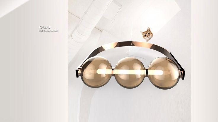 Küresel formların baskın olduğu cam aydınlatma elemanı.   Glass lighting equipment with dominant global forms.  #lighting #design #glass #saken #productdesign #lightingdesign #aydinlatma #tasarım #ürün #pendant