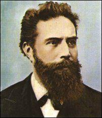 Wilhelm Conrad Röntgen (1845-1923)
