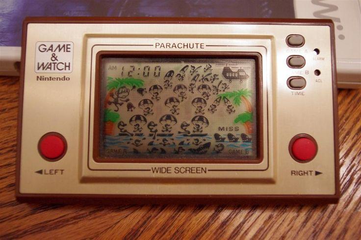 Nintendo Game & Watch : Parachute (1981)