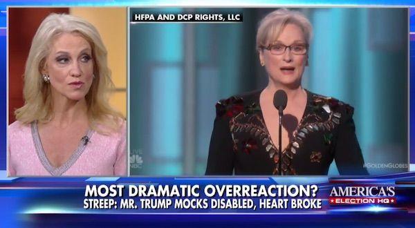 Trump Team responds to Meryl Streep's snobby golden globes speech