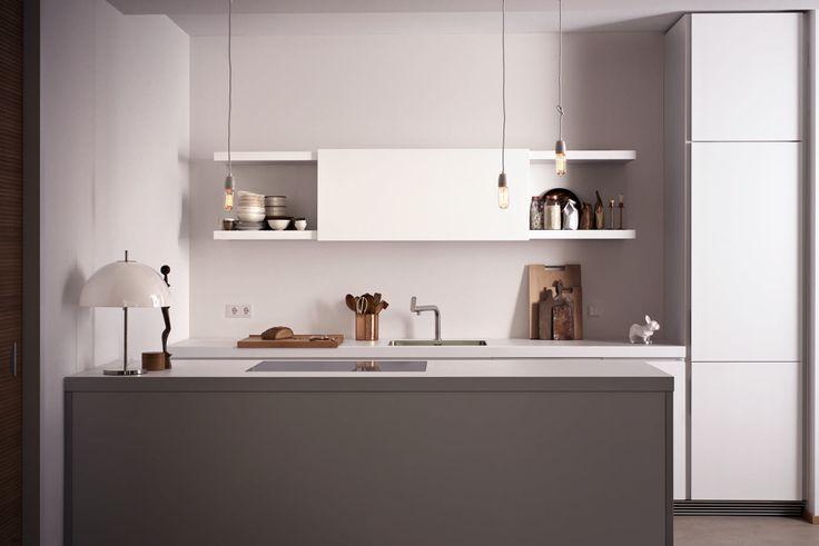 20 best b1 la cuisine blanche et pure images on pinterest - Decoratie design keuken ...