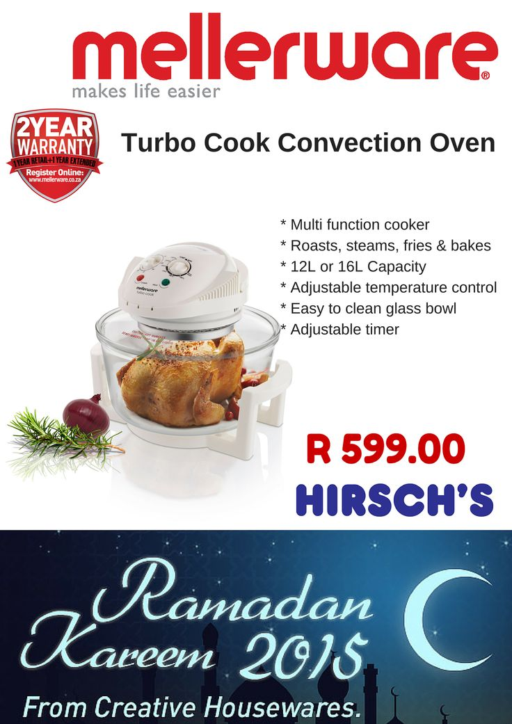 Turbo Cook Convection Oven