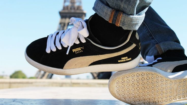 "Puma Suede ""Red Bull BC One Paris World Final Edition 2014"""