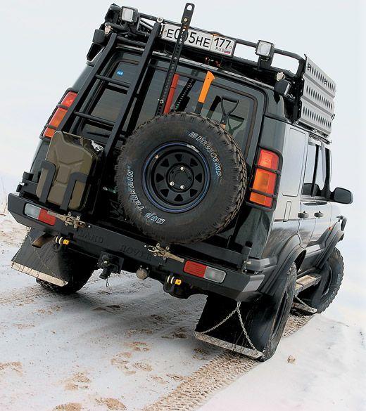 Тюнингованный Land Rover Discovery » Автомобильный журнал 4x4 Club :: Журнал о внедорожниках - 4х4 Клуб