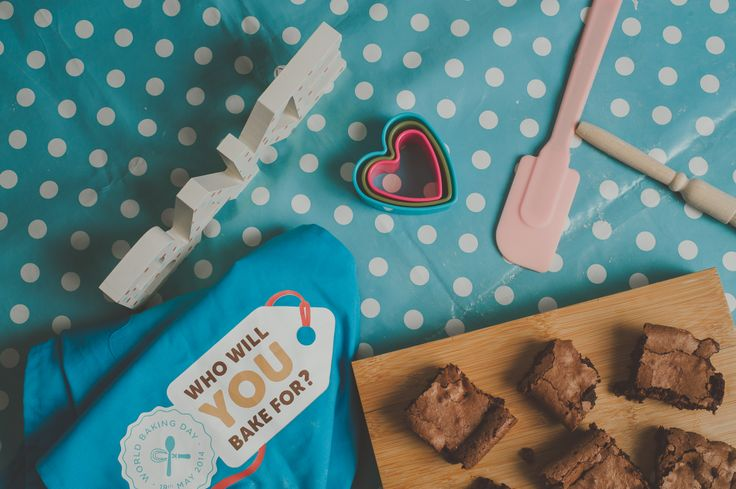 Who will you bake for on Sunday 18th May? Make your pledge to bake for someone special at www.pledgetobake.co.za