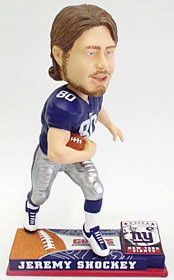 New York Giants Jeremy Shockey Forever Collectibles On Field Bobble Head