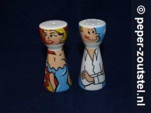 Ritzenhoff, Mrs. Pepper en Mr. Salt. Ben Hall, verzamelen, verzameling, peper en zoutstel