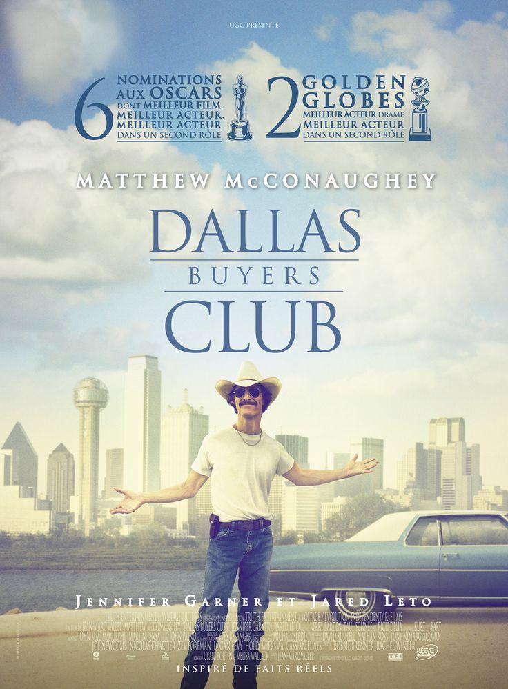 Dallas Buyers Club est un film de Jean-Marc Vallée avec Matthew McConaughey, Jennifer Garner. Synopsis : 1986, Dallas, Texas, une histoire vraie. Ron Woodroof a 35 ans, des bottes, un Stetson, c'est un cow-boy, unvrai