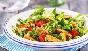 tofu letní salát