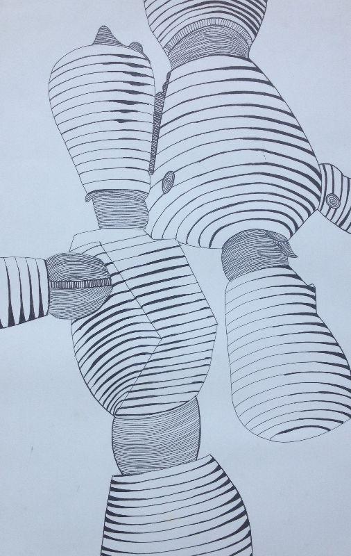 Contour Line Drawing Body : Best images about cross contour on pinterest parks