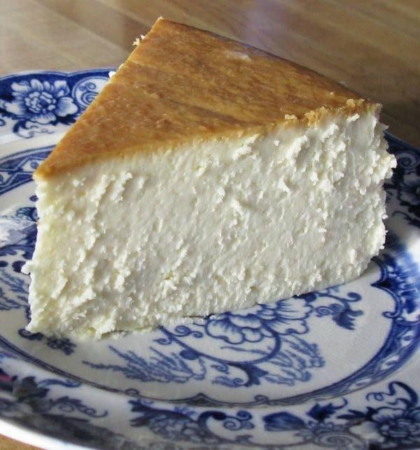 New York Cheesecake Recipe Desserts with large eggs, sour cream, cream cheese, unsalted butter, sugar, corn starch, vanilla extract, fresh lemon juice, grated lemon zest
