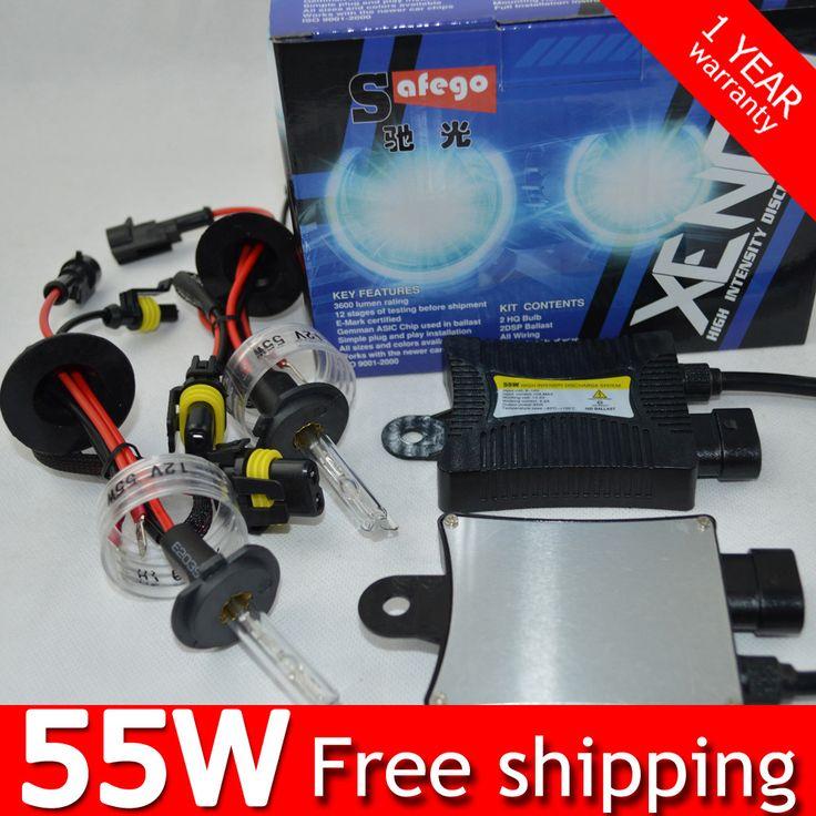 5sets DC 12V 35W xenon 55w h7 H1 H3 H4 ampoule h7 H8 H9 H10 H11 H13 880/881(H27) 9004 9005 9006 9007 h7 xenon 6000k