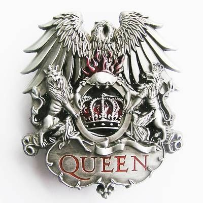 """QUEEN"" ROCK BAND BELT BUCKLE freddy mercury brian may on eBay!"
