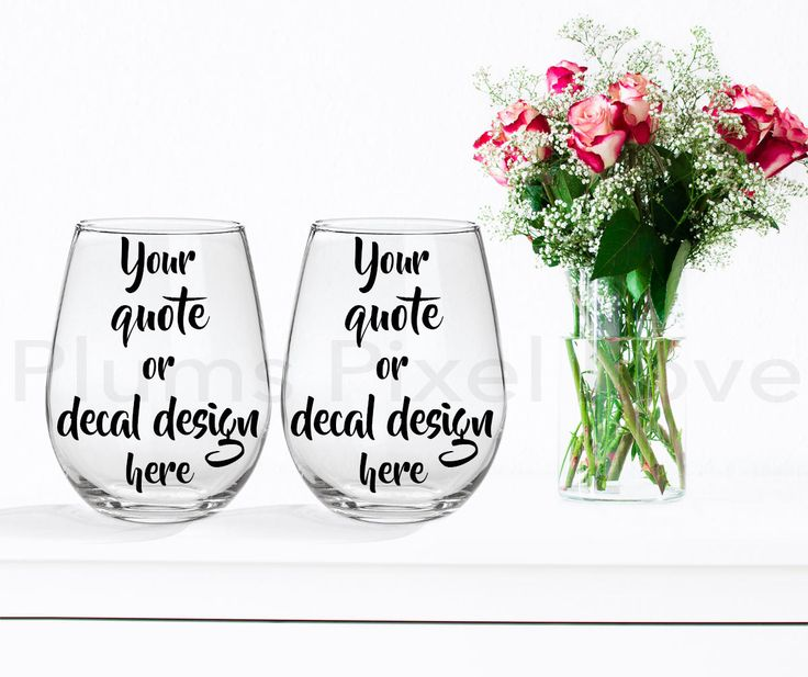 2 wine glasses Mockup, Styled Stock wine glass Image, Mock up stemless wine glasses, Photograph, wine glass design, Digital, mock-up by plumspixellove on Etsy