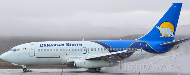 Canadian North Boeing 737-200 (C-GOPW) at Iqaluit CYFB
