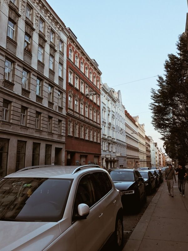 Street Views. Vienna, Austria
