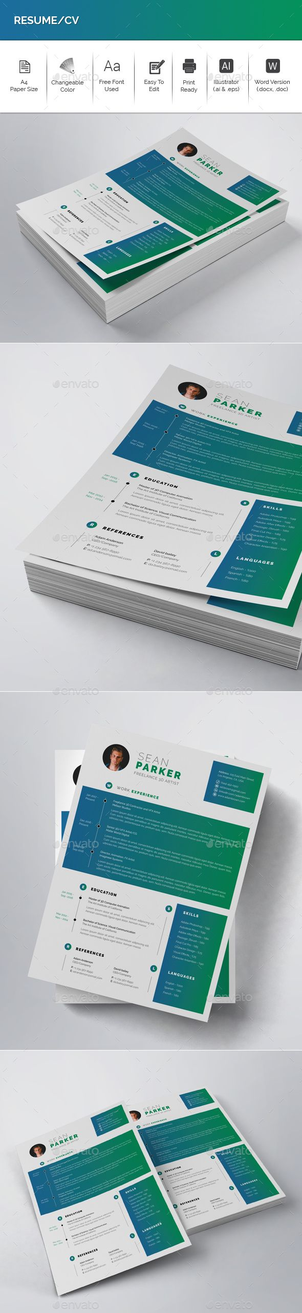 ResumeCV 100 best CV images on Pinterest