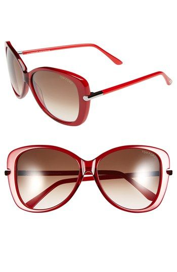 Tom Ford 'Linda' 59mm Sunglasses available at #Nordstrom