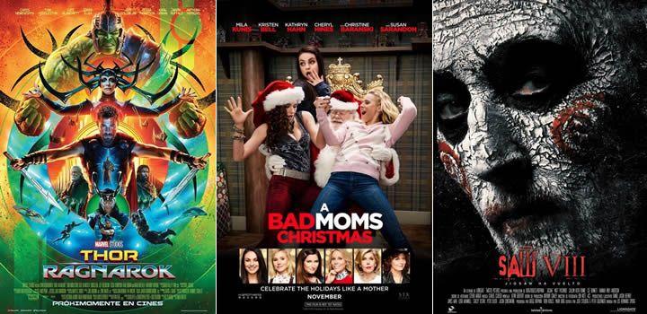 Taquilla USA: Thor: Ragnarok arrasa con casi 120 millones y el nº1. Malas madres 2 es segunda - Fin de semana 3 y 5 de Noviembre