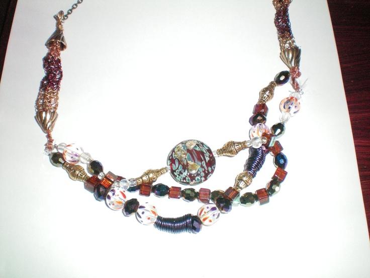 Look at me necklace. $120.00, via Etsy.