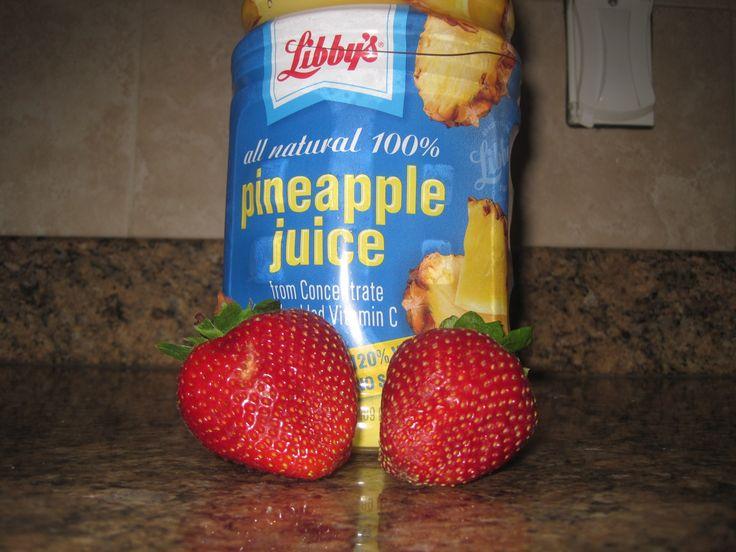 Zoku- Strawberry Pineapple Ice Pops | Recipes | Pinterest