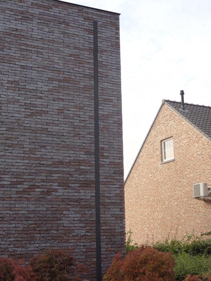 Regenpijp ingewerkt in de gevel egide meertens 2 pinterest - Moderne huis gevel ...