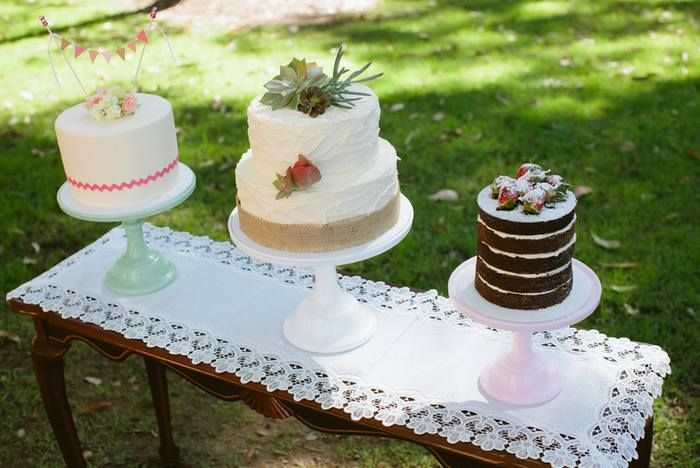 Vintage Inspired Cakes - Full details at StyledByMe.co