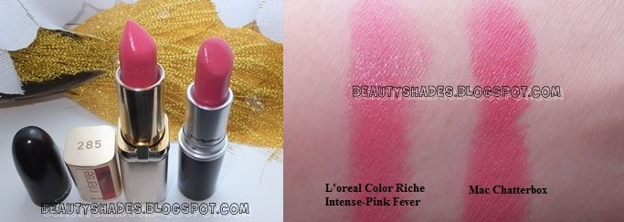 Mac Lipstick Dupes the lip swatches look identical