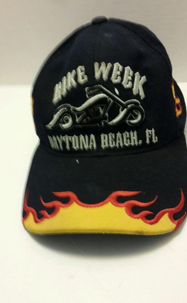 Lot of 3 Harley Davidson Trucker Hats Adjustible 2008 Sturgis, Bike Week Daytona #Otto