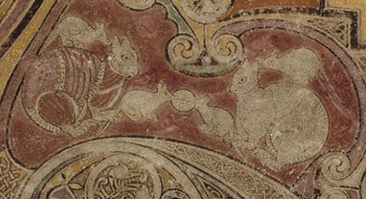 File:Book of Kells 34r - Katzen und Maeuse.jpg