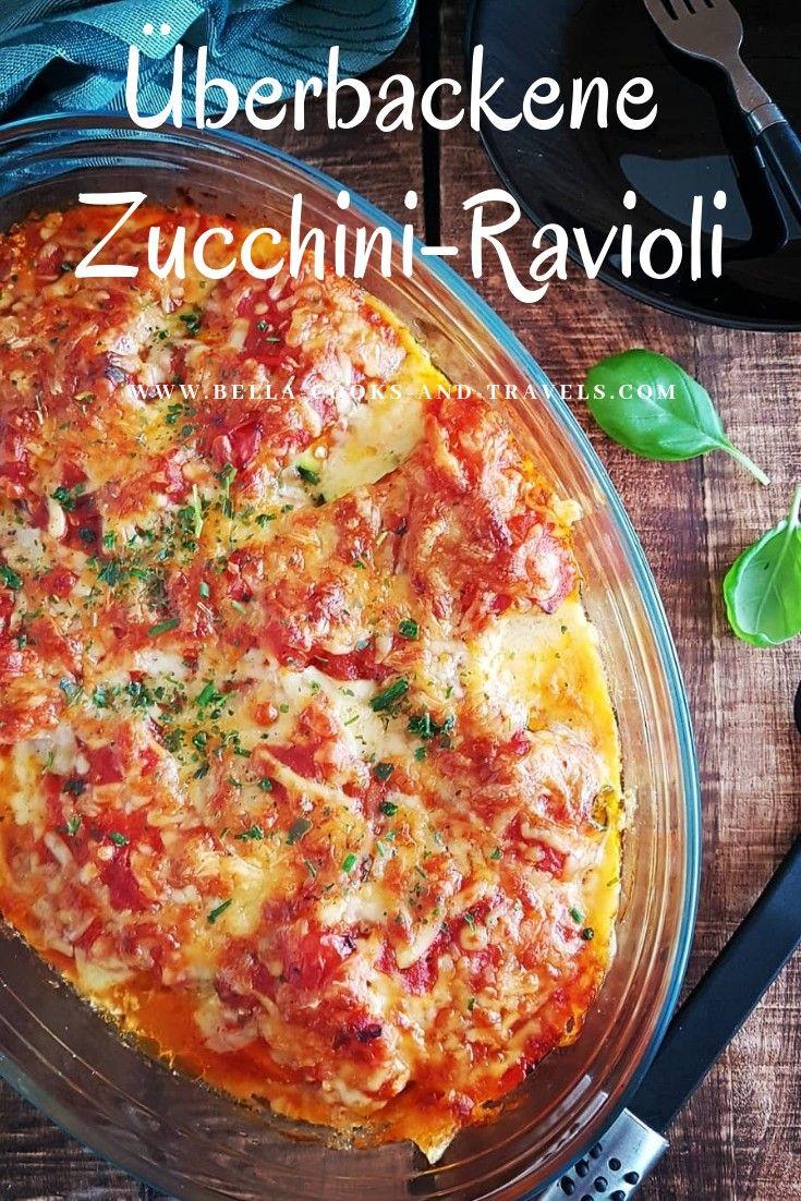 Leckeres Rezept für Zucchini-Ravioli #zucchini #vegetarisch #einfach