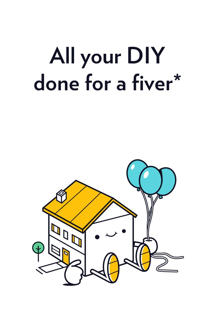 All your DIY done for a fiver!  To celebrate our first year in business at DAD, we are going to fix 500 homes for just a fiver. Download our app, have a free video call and only pay £5 for a home visit from a vetted DAD tradesman.  Tackle anything from painting and plastering to problematic appliances, your £5 will cover the cost of one home visit.