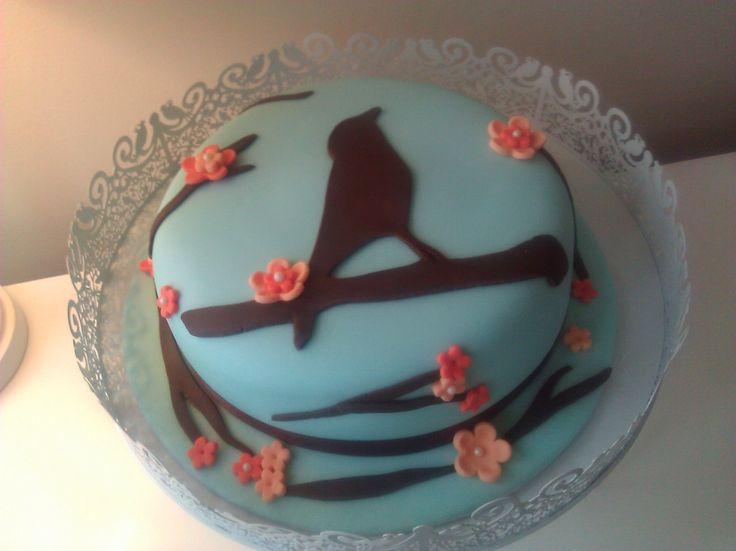 Bird Cake Cake Birthday Cake Angry Birds Birthday Cake