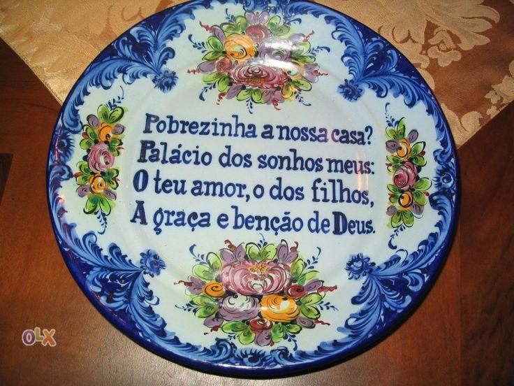 Prato decorativo Loiça - Cerâmica de Alcobaça