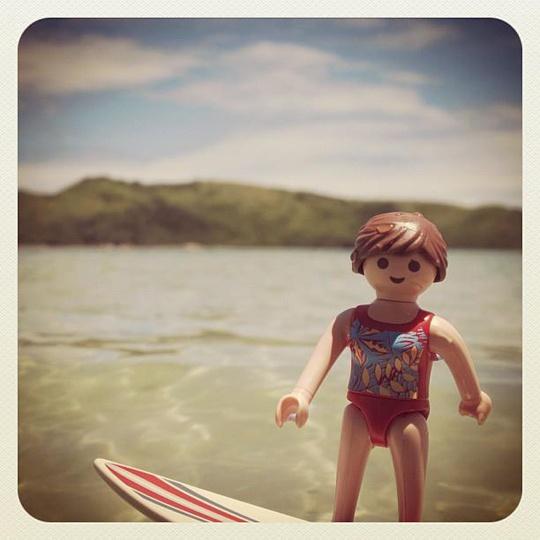 Playmobil surf