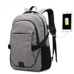 AUGUR <b>Backpacks</b> USB Charging For Men Women Casual Travel ...