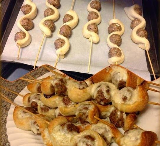 Cooking & Recipes: Meatball Sub on a Stick