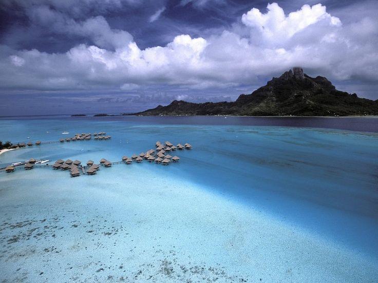 Franska Polynesien - Bilder på skrivbordet: http://wallpapic.se/stader-och-lander/franska-polynesien/wallpaper-15778