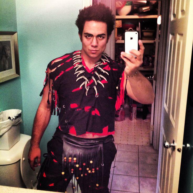 "Homemade Rufio costume ""Hook"""