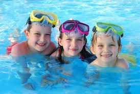 some kids like to swim