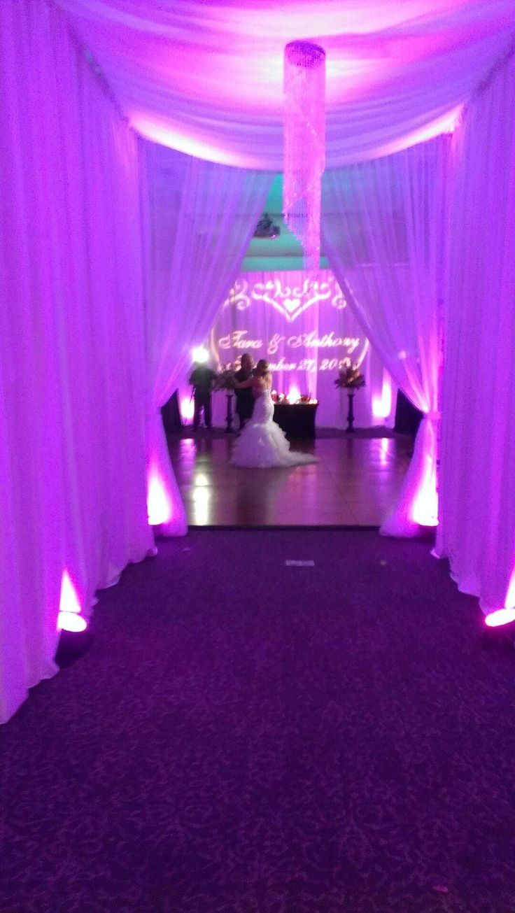 Entrance To Our Wedding Over The Weekend Congrats Again Tara And Anthony Find This Pin More On Aloft Mount Laurel