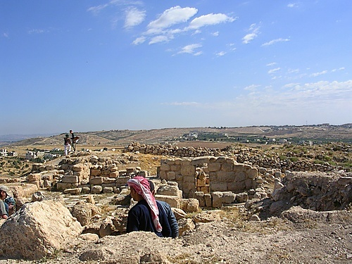 Archaeological dig at Tell Hesban, Jordan...spent the summer of 1971 as the photographer at Tel Hesban.