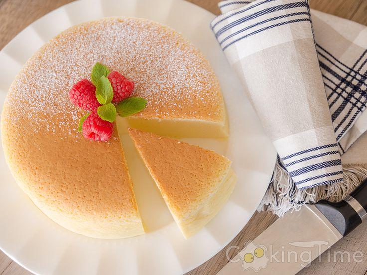 Японский Хлопковый Чизкейк - Cotton Cheesecake   CookingTime.ru