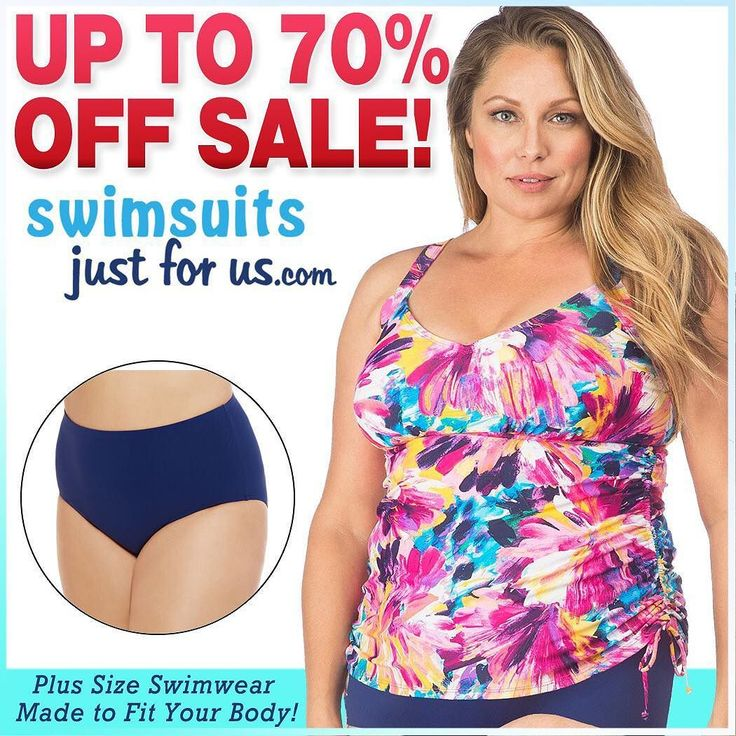 """2017 Swimwear Clearance SALE!  UP TO 70% OFF!!! Shop our website """"Sale and Clearance"""" section for discounted Plus Size Swimwear and enjoy the savings!!!  Sizes 16W-32W. PLUS get free shipping: USE CODE C2017 at checkout #shopplussize #curvyfashion #plussizeswimwear #plussizefashion #loveyourcurves #shopplussize #plussize #fashionnews #curvyfashion #plussizeswimwear #psblogger #psblog #loveyourcurves #realwomenhavecurves #shopplussize #swimsuitonline #modelswithcurves #plussizes #swimsuit…"""