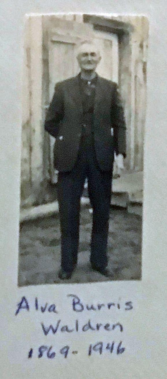 Alva Burris Waldren (1869-1946)