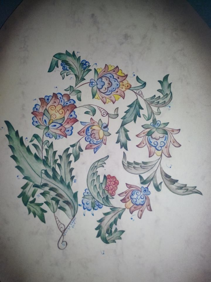 Traditional Ottoman Designs, Redesigned by Turk Artists.