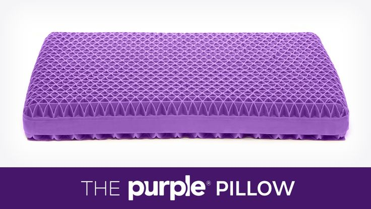 No more lumpy foam, stabby feathers and melty memory foam. Introducing the Purple® Pillow, the first innovation in pillows since geese